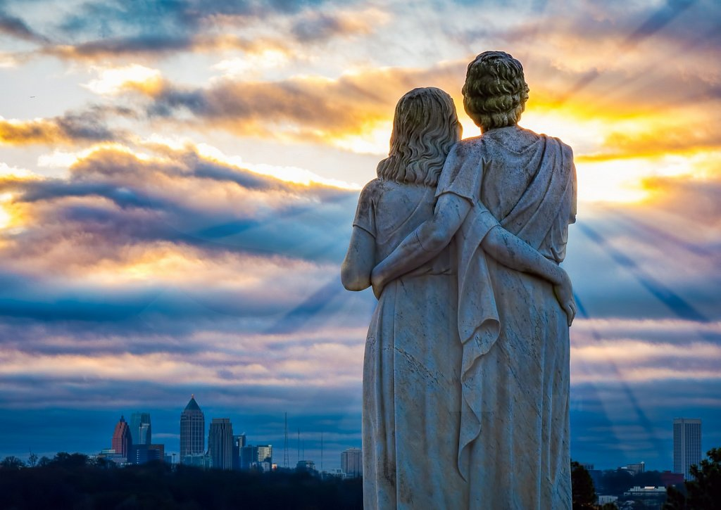 City Sunrise Watchers