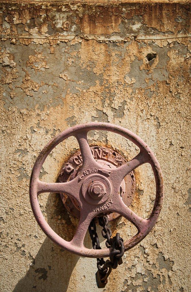 Old Valve Wheel